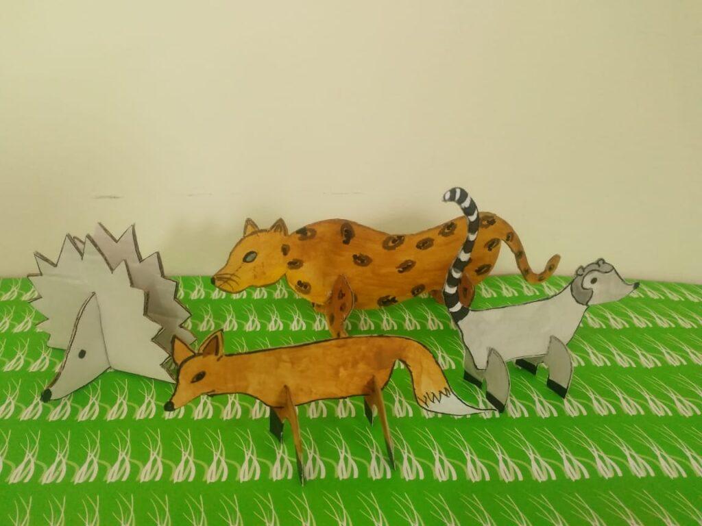 animales de la selva misionera